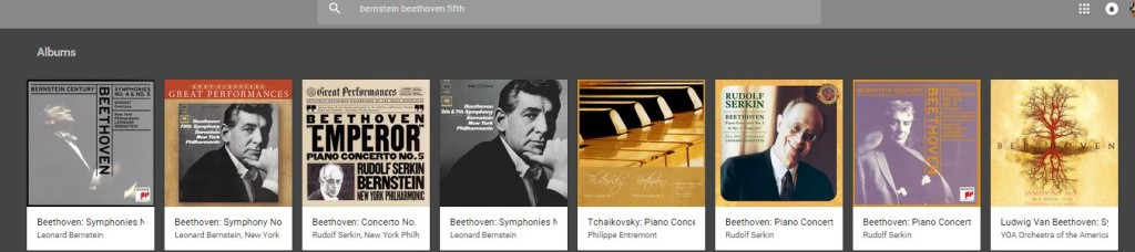 A proper screen grab from the 'Bernstein Beethoven's Fifth' test in the NPR article...